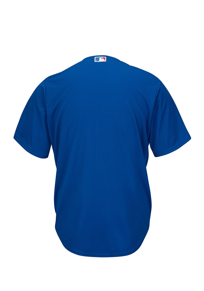 Chicago Cubs Mens Majestic Replica Alternate Jersey - Blue - Image 2