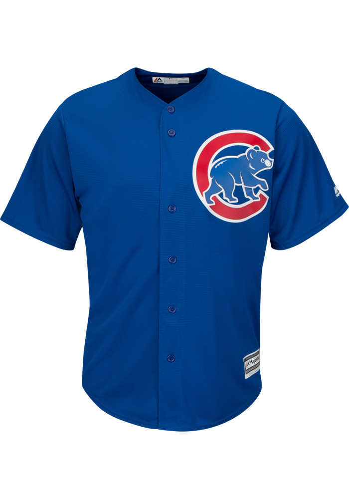 Jake Arrieta Chicago Cubs Mens Replica Alternate Jersey - Blue - Image 2
