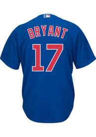 Kris Bryant Chicago Cubs Majestic 2019 Alternate Replica - Blue