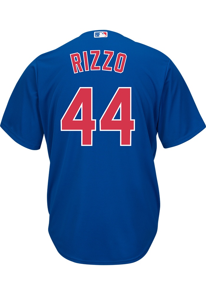 Anthony Rizzo Chicago Cubs Mens Replica 2019 Alternate Jersey - Blue - Image 1