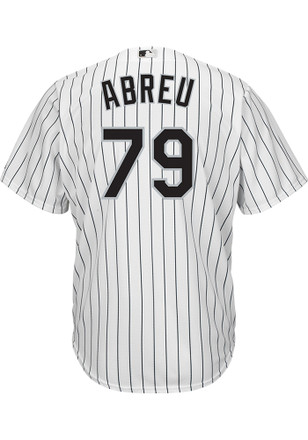 Jose Abreu Chicago White Sox Mens Replica tackle twill wordmark Jersey 7dde2c998