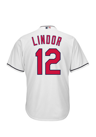 Francisco Lindor Cleveland Indians Mens Replica Home Jersey