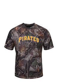 Majestic Pittsburgh Pirates Green Be The Best Tee