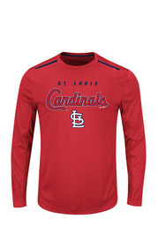 Majestic St Louis Cardinals Red Tee
