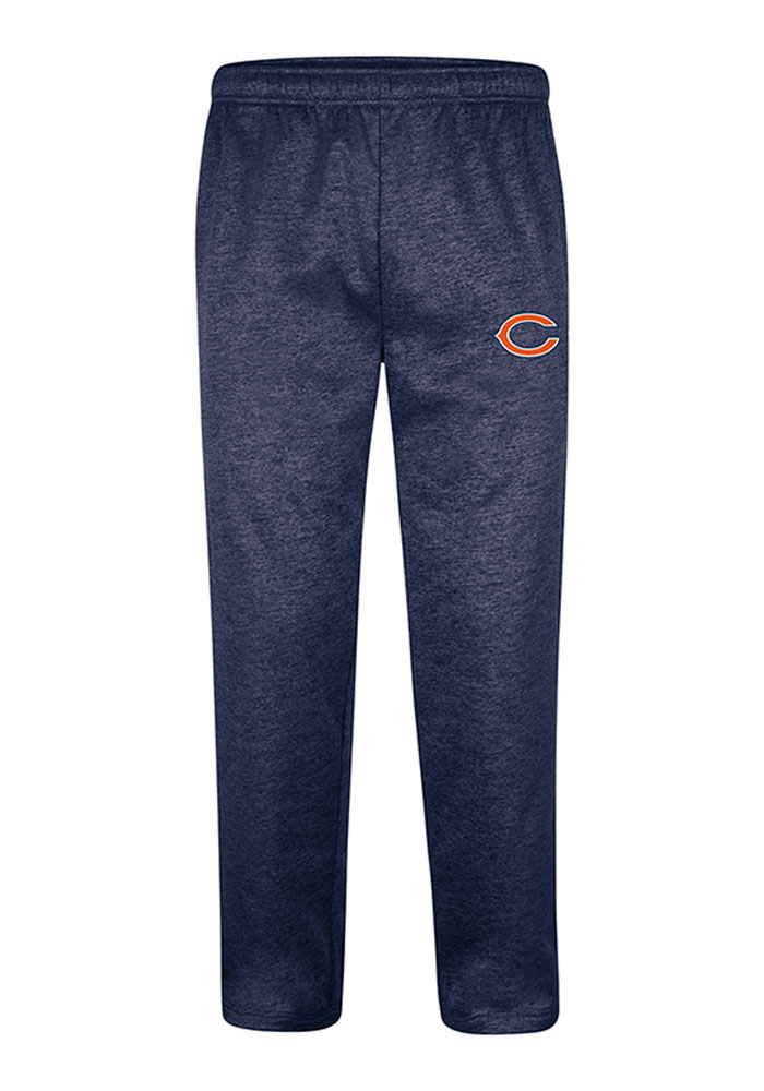 Majestic Chicago Bears Mens Navy Blue Classic Pants - Image 1