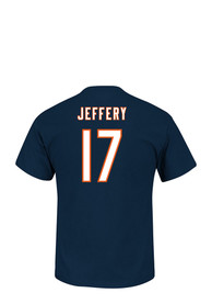 Alshon Jeffery Chicago Bears Navy Blue Name and Number Player Tee