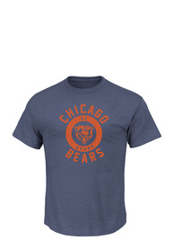 Majestic Chicago Bears Grey Keep Score Fashion Tee