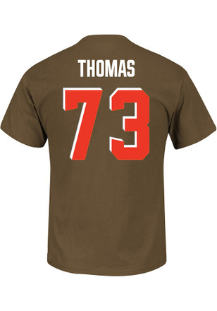 Joe Thomas Cleveland Browns Mens Black R Player Tee