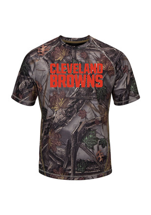 Majestic Cleveland Browns Mens Green The Woods Tee