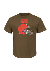 Majestic Cleveland Browns Green Critical Victory Tee