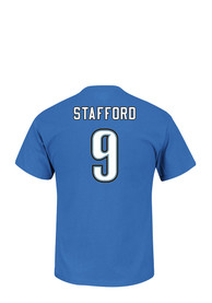 Matthew Stafford Detroit Lions Blue Eligible Receiver Player Tee