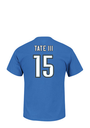 07b96d74f Golden Tate Detroit Lions Blue Eligible Receiver Player Tee