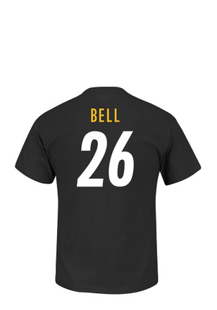 Le'Veon Bell Pittsburgh Steelers Mens Black Eligible Receiver Player Tee