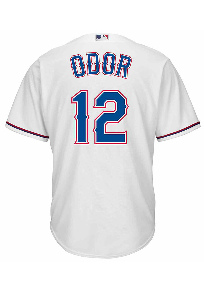 Rougned Odor Texas Rangers Mens Replica Cool Base Jersey - White - Image 1
