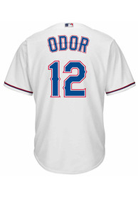 Rougned Odor Texas Rangers Majestic Cool Base Replica - White