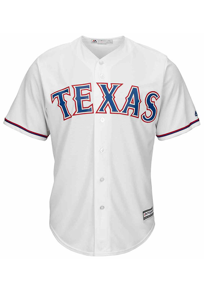 Rougned Odor Texas Rangers Mens Replica Cool Base Jersey - White - Image 2
