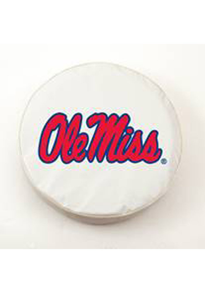 Ole Miss Rebels Large White Car Accessory Tire Cover - Image 2