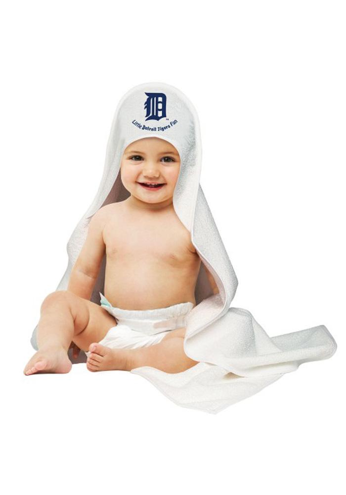 Detroit Tigers Hooded Towel Baby Bath Accessory - Image 1