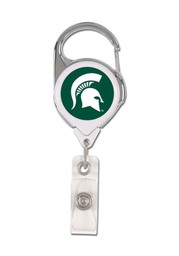 Michigan State Spartans Retractable Badge Holder