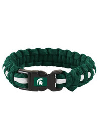 Michigan State Spartans Survival Bracelet - Green