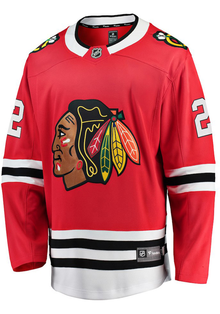 Duncan Keith Chicago Blackhawks Mens Red Breakaway Hockey Jersey - Image 2