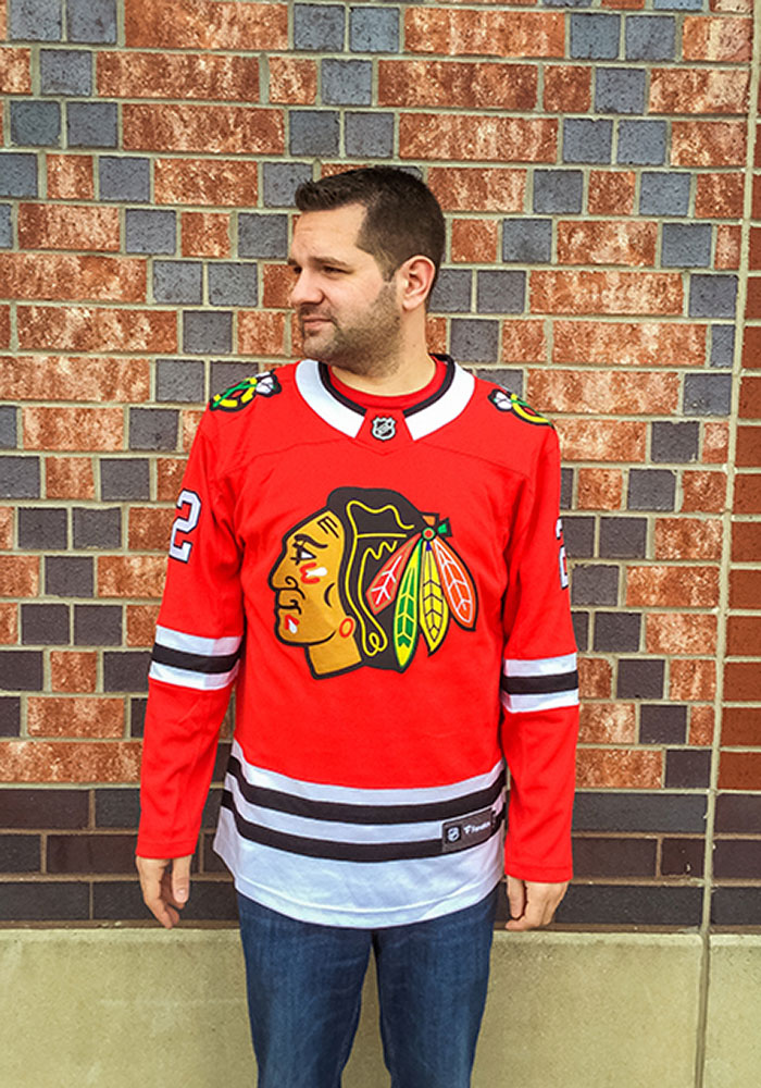 Duncan Keith Chicago Blackhawks Mens Red Breakaway Hockey Jersey - Image 5