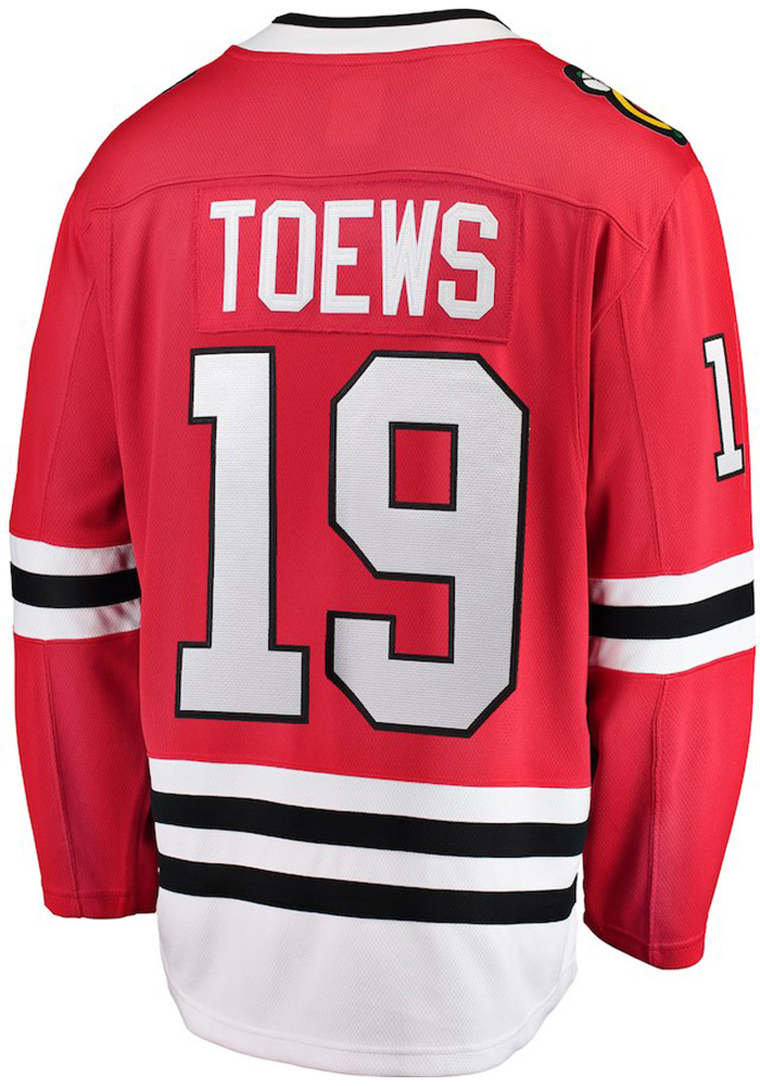 Jonathan Toews Chicago Blackhawks Breakaway Hockey Jersey - Red