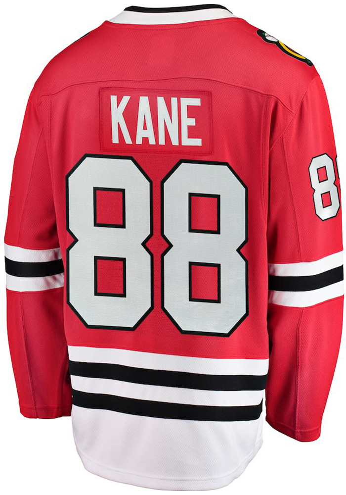 Patrick Kane Chicago Blackhawks Mens Red Breakaway Hockey Jersey - Image 1
