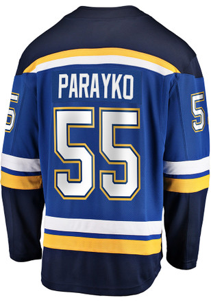 Colton Parayko St Louis Blues Blue Breakaway Jersey acbfd68a5