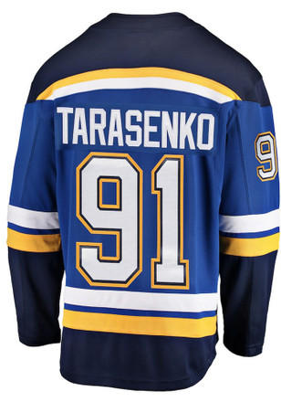 Vladimir Tarasenko St Louis Blues Blue Breakaway Jersey c5426eab6