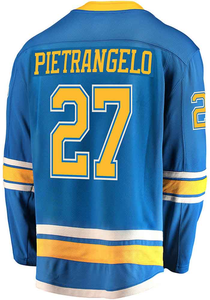 Alex Pietrangelo St Louis Blues Mens Blue Breakaway Alternate Hockey Jersey - Image 1