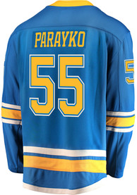 14da2f84ccd Colton Parayko St Louis Blues Mens Blue Breakaway Alternate Hockey Jersey