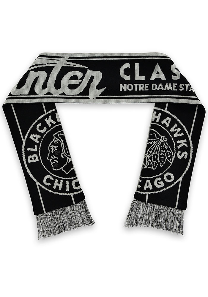 Chicago Blackhawks Winter Classic Mens Scarf - Image 1