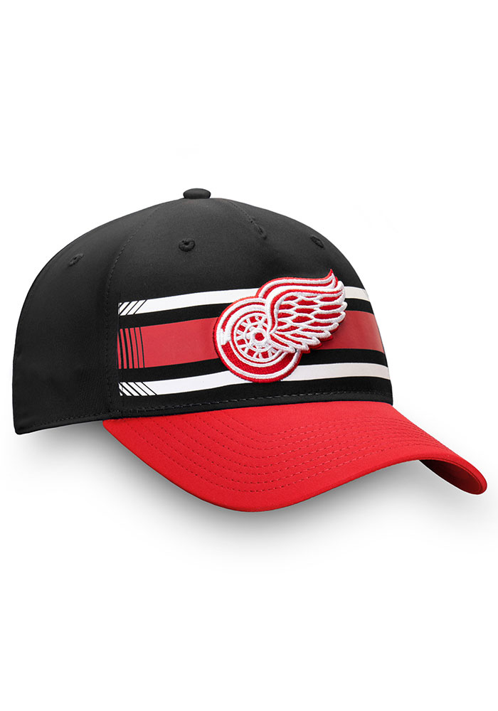 Detroit Red Wings Iconic Alpha Adjustable Hat - Black - Image 3