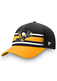 Pittsburgh Penguins Iconic Alpha Adjustable Hat - Black
