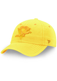 Pittsburgh Penguins Color Hue Fundamental Adjustable Hat - Yellow