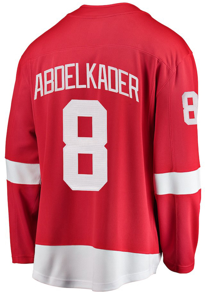 Justin Abdelkader Detroit Red Wings Mens Red Breakaway Hockey Jersey - Image 1