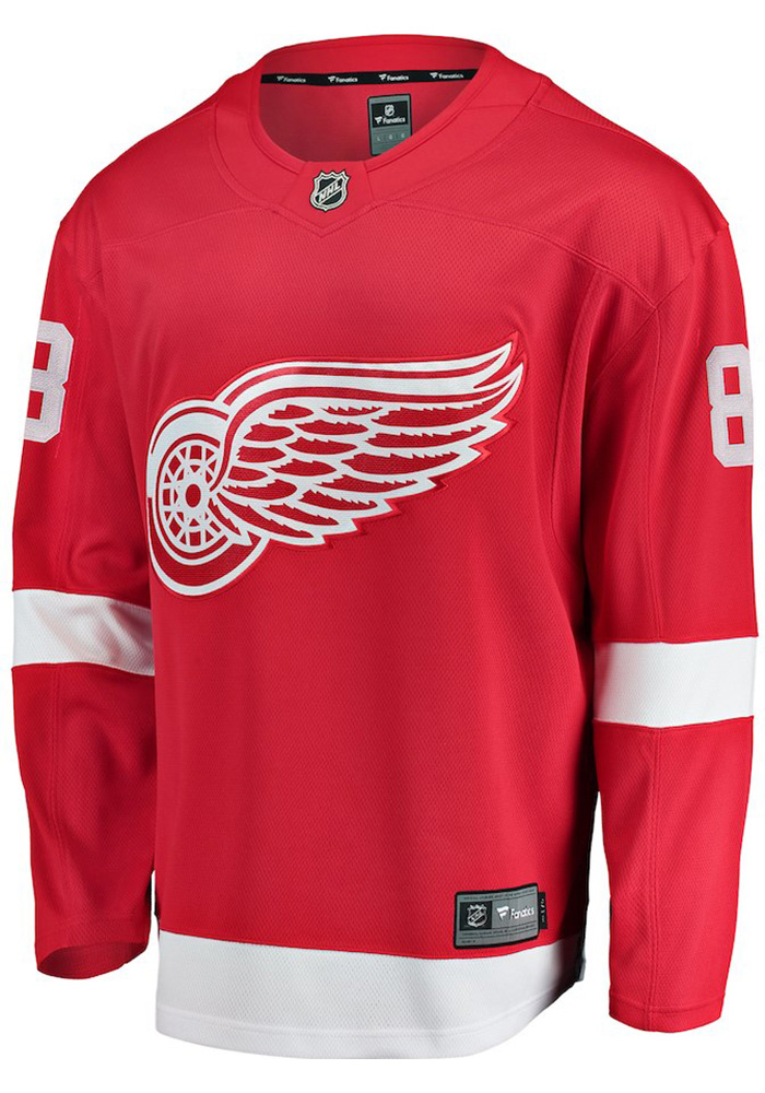 Justin Abdelkader Detroit Red Wings Mens Red Breakaway Hockey Jersey - Image 2