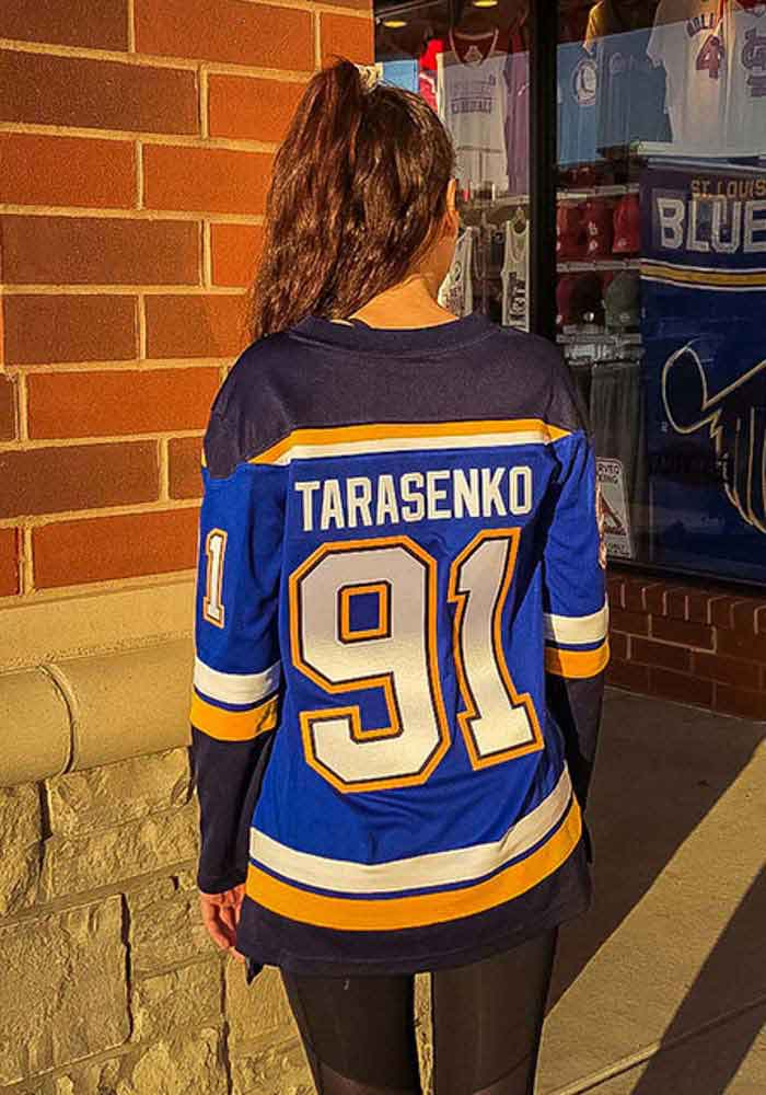 big sale 5c19c bf3f1 Vladimir Tarasenko St Louis Blues Womens Blue Breakaway Hockey Jersey