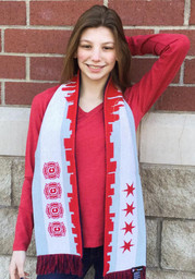 Chicago Fire Local Flavor Mens Scarf