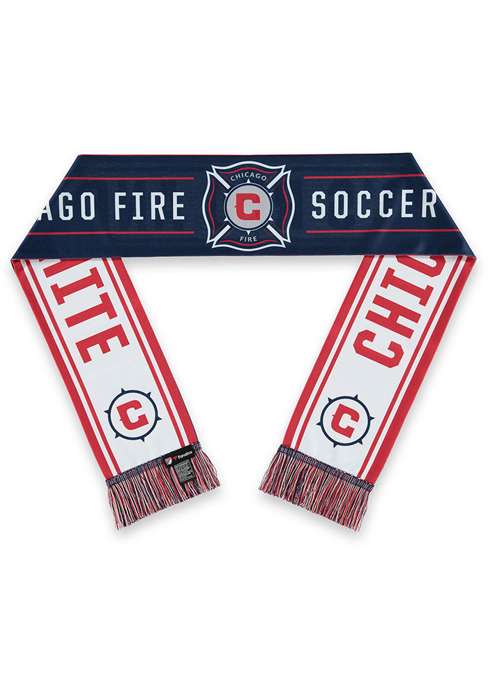 Chicago Fire Sublimated Mens Scarf - Image 1