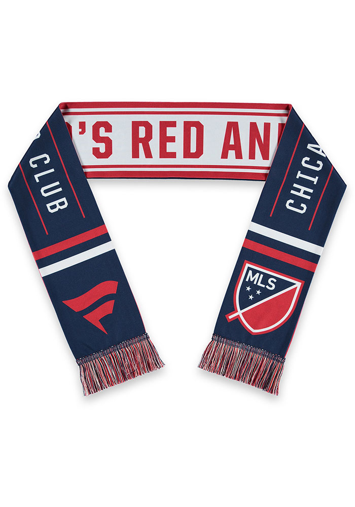 Chicago Fire Sublimated Mens Scarf - Image 2
