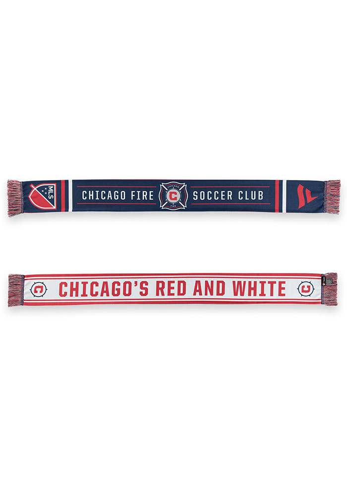 Chicago Fire Sublimated Mens Scarf - Image 3