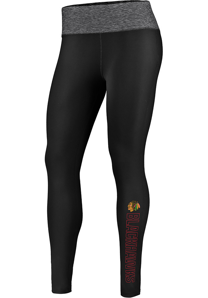Chicago Blackhawks Womens Black M2M Pants - Image 1