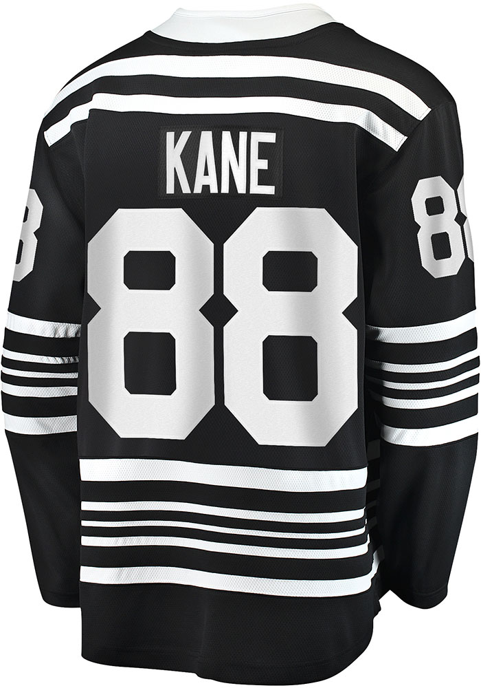 Patrick Kane Chicago Blackhawks Mens Black 2019 Alternate Hockey Jersey - Image 1