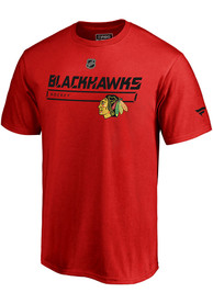 Chicago Blackhawks Pro Prime T Shirt - Red