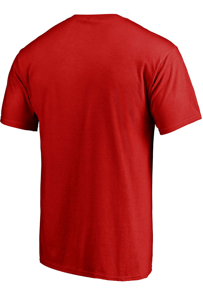 Detroit Red Wings Red Pro Prime Short Sleeve T Shirt - Image 2