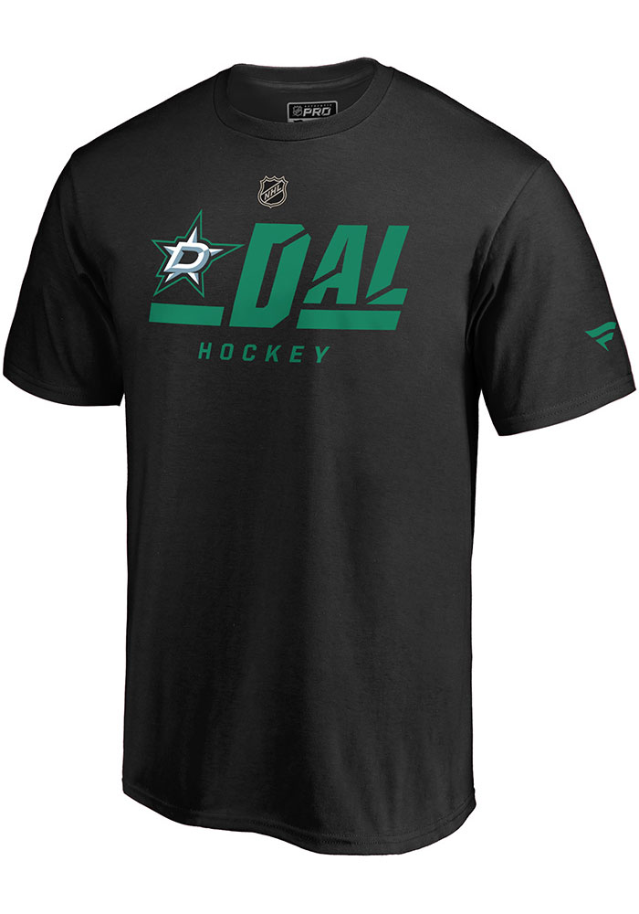 Dallas Stars Pro Tricode T Shirt - Black