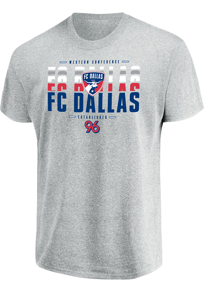FC Dallas Enjoy The Win T Shirt - Grey