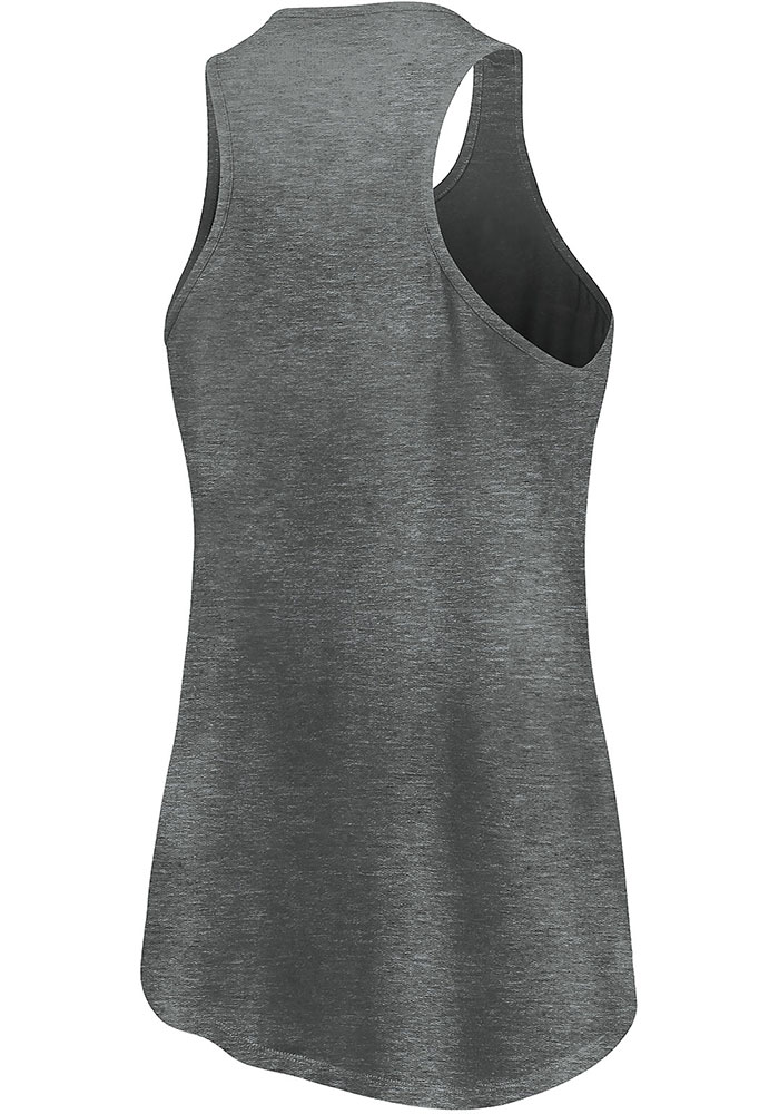 FC Cincinnati Womens Grey Synthetic Official Logo Tank Top - Image 2
